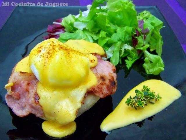 Huevos Benedict (a la Benedictina)