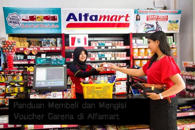 Cara Membeli dan Mengisi Voucher (Cash) PB Garena di Alfamart