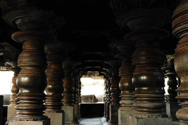 Beautiful Lathe-turned Circular pillars