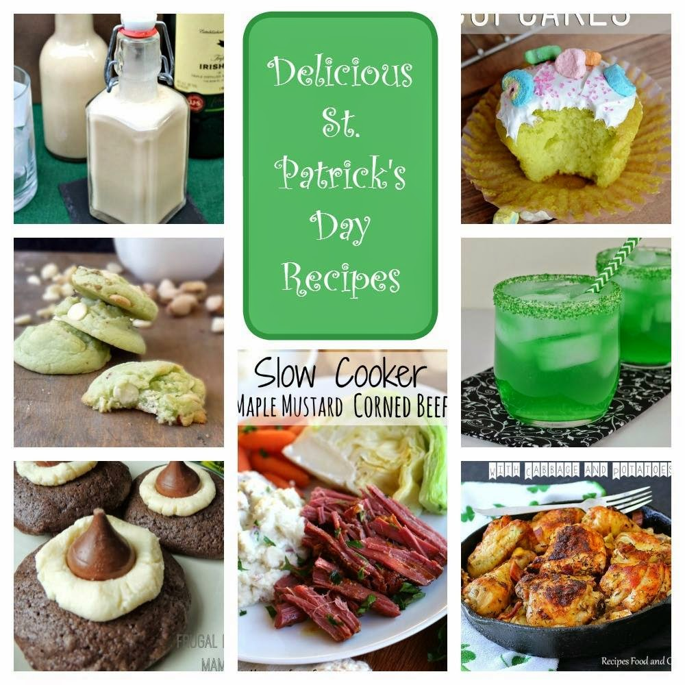 Must Have St. Patrick's Day Recipes | by Life Tastes Good. A round up of St. Patrick's Day inspired recipes. Holiday recipes. Party recipes. Green recipes. Traditional recipes.
