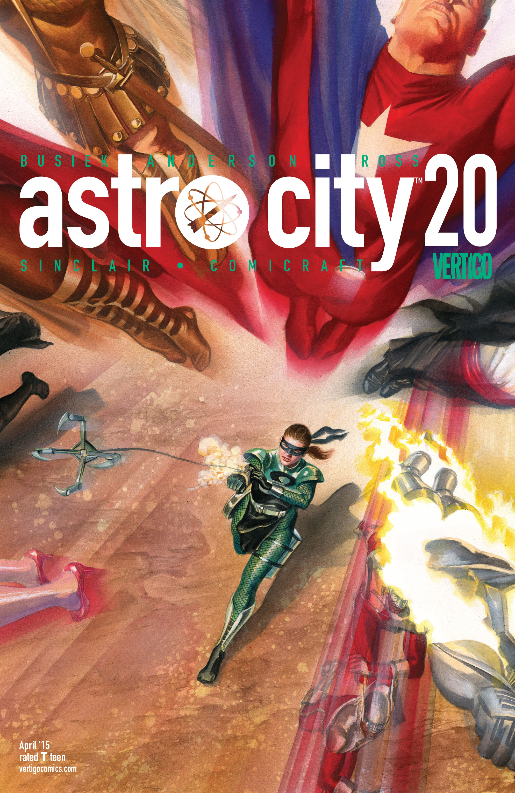 Read online Astro City comic -  Issue #20 - 1