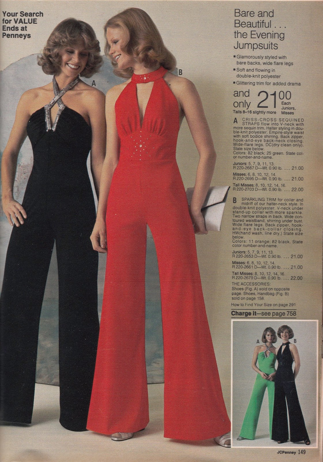 Kathy Loghry Blogspot That S So 70s More Jumpsuit Madness Part 3
