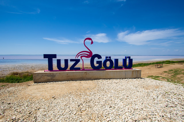 Tuz Golu, lago salato-Cappadocia
