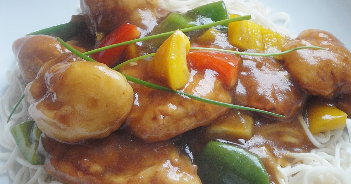Chinese Food Sweet And Sour Chicken Calories