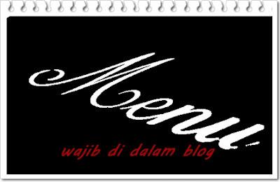 Halaman dan menu penting yang wajib ada di dalam blog