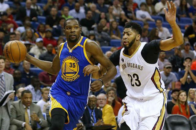 NBA  Kevin Durant ve a Anthony Davis máximo anotador de la liga ... 22d3001ff
