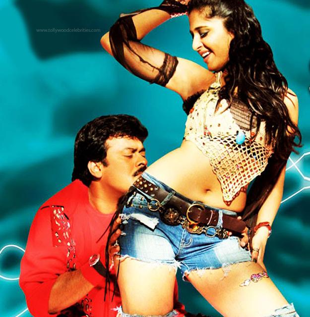 MegaStar Chiranjeevi To Romance With Anushka ?