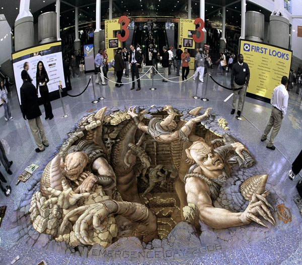 19-Gears-of-War-Kurt-Wenner-3D-Street-Pavement-Art-Painting-www-designstack-co
