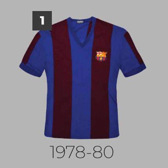 9635365a4fc 20 Years With Nike - Which Is The Best  Barça Home Kit History 1978 ...