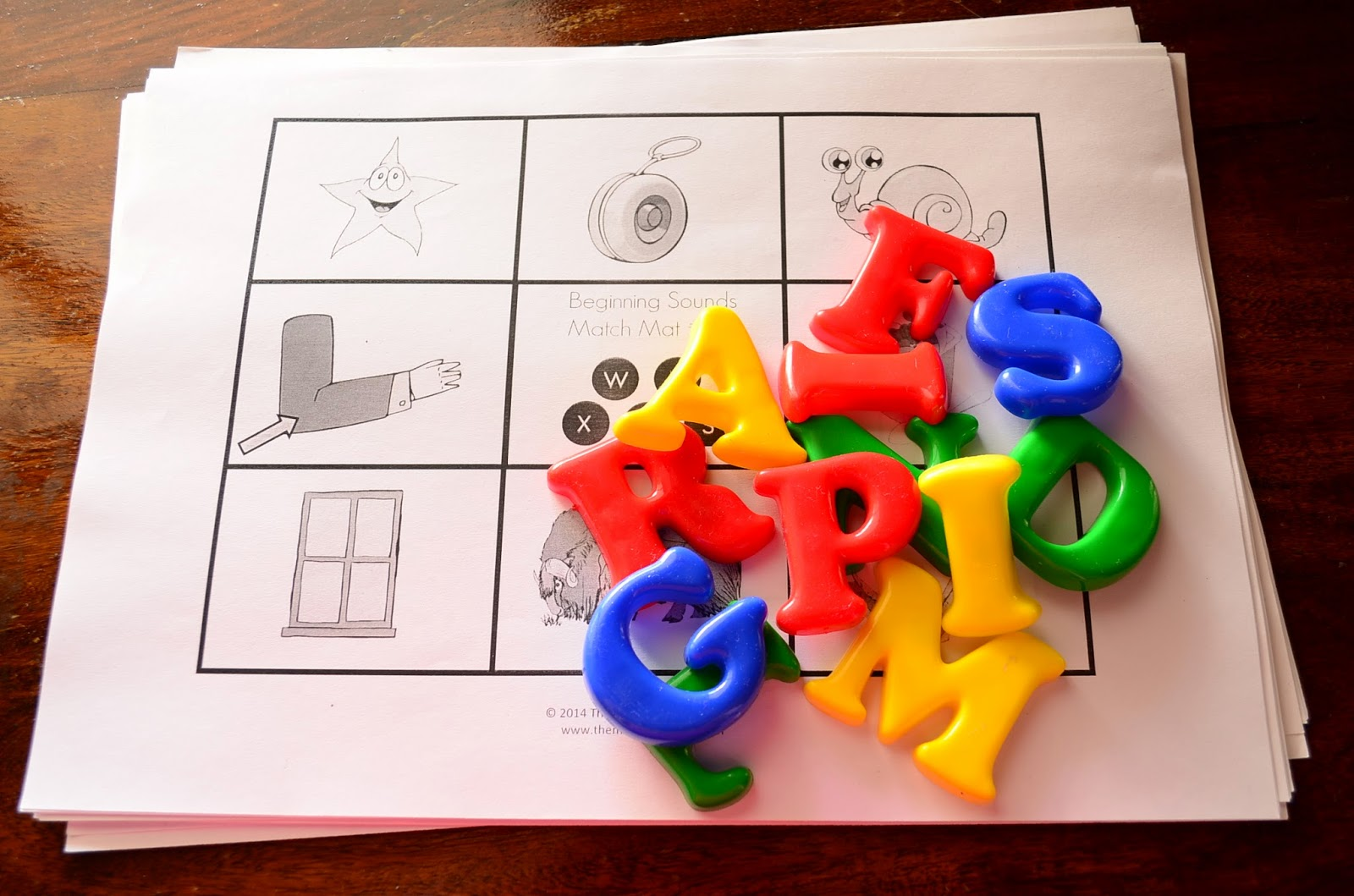 The Practical Mom: 8 Alphabet Round Up Activities