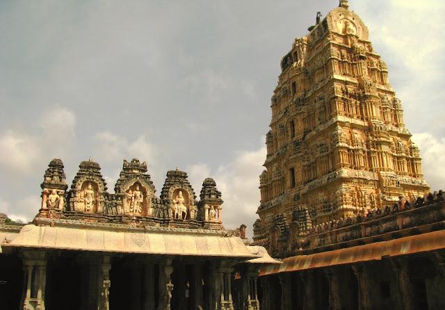Kanakagiri Gopura- Virupaksha temple - Hampi Pick, Pack, Go