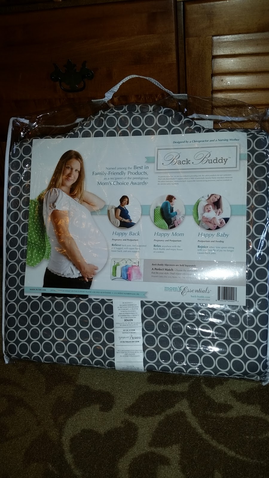 My Buddy and Me: The Back Buddy Support Pillow #Review ...