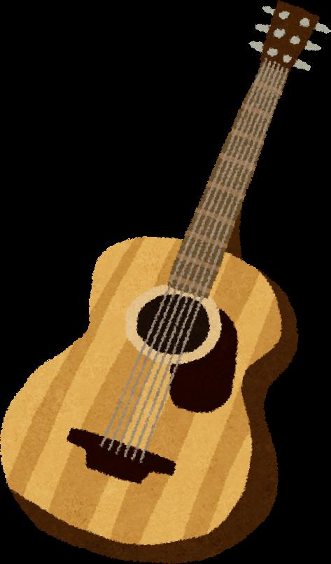 アコースティックギターのイラスト | かわいいフリー素材集 いらすとや