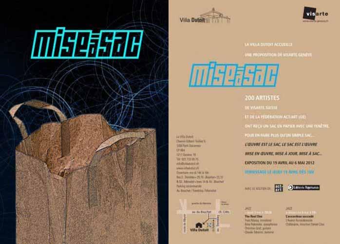 Mise à sac, une exposition proposée par Visarte Genève