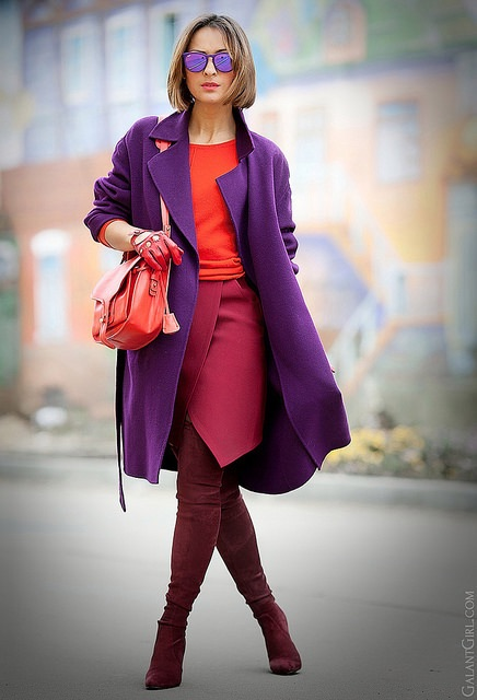 ULTRA VIOLET: how to use the color chosen by Pantone for 2018