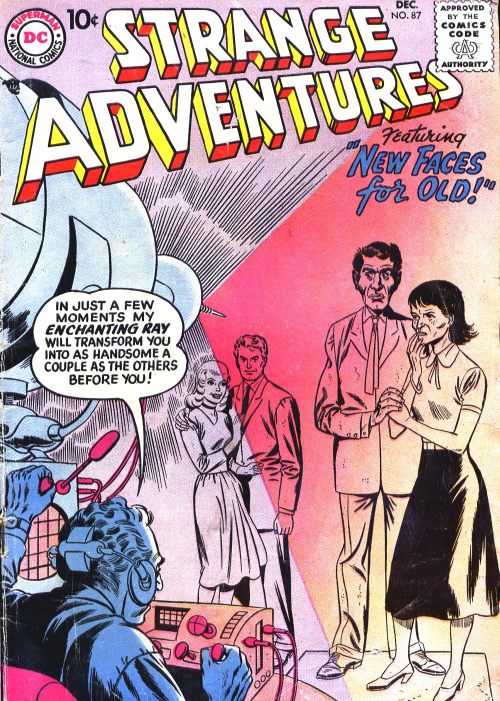 Strange Adventures (1950) issue 87 - Page 1