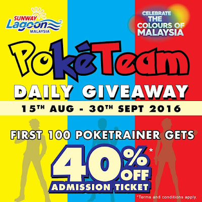 Sunway Lagoon Admission Ticket Discount Pokemon Go