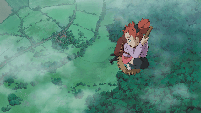 Mary and the Witch's Flower Anime