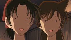 Ran and Kazuha are scared out of their wits