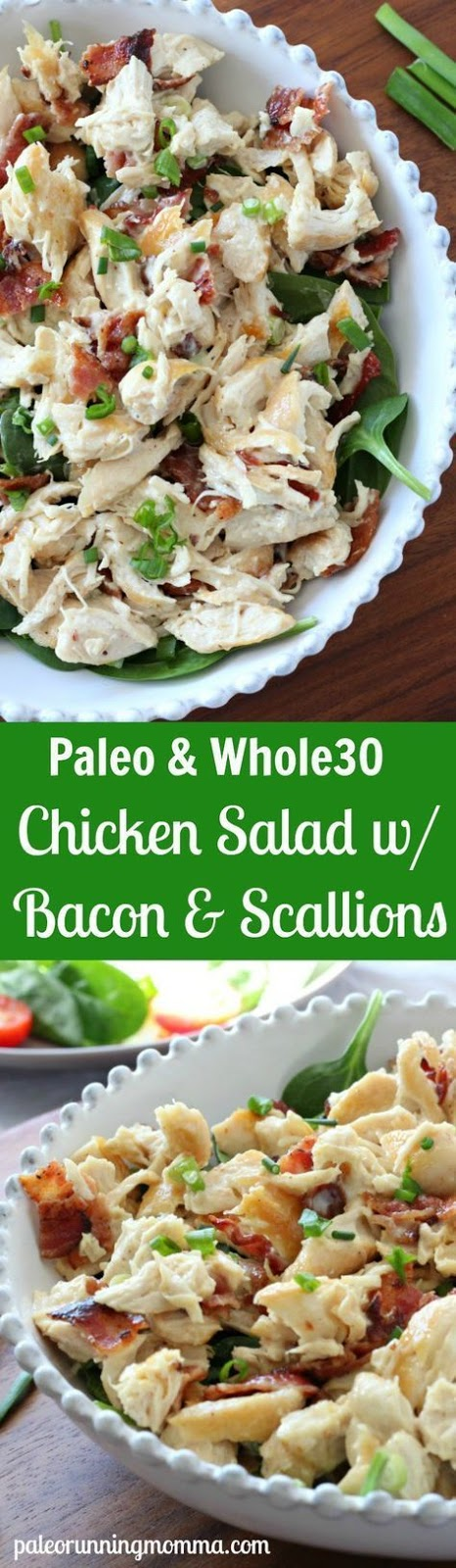Bacon Scallion Chicken Salad