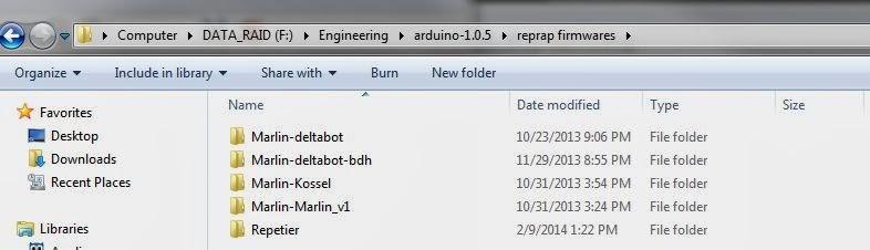 Reprap: Repetier Firmware