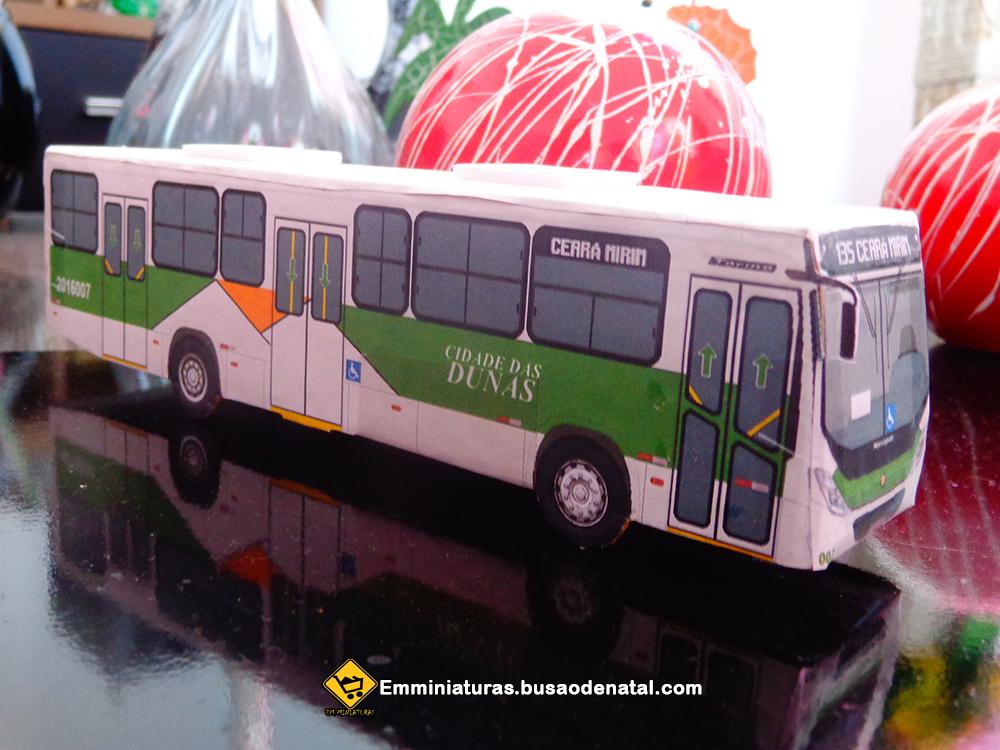 Em Miniaturas entrega miniatura da Cidade das Dunas à cliente do Vale Dourado