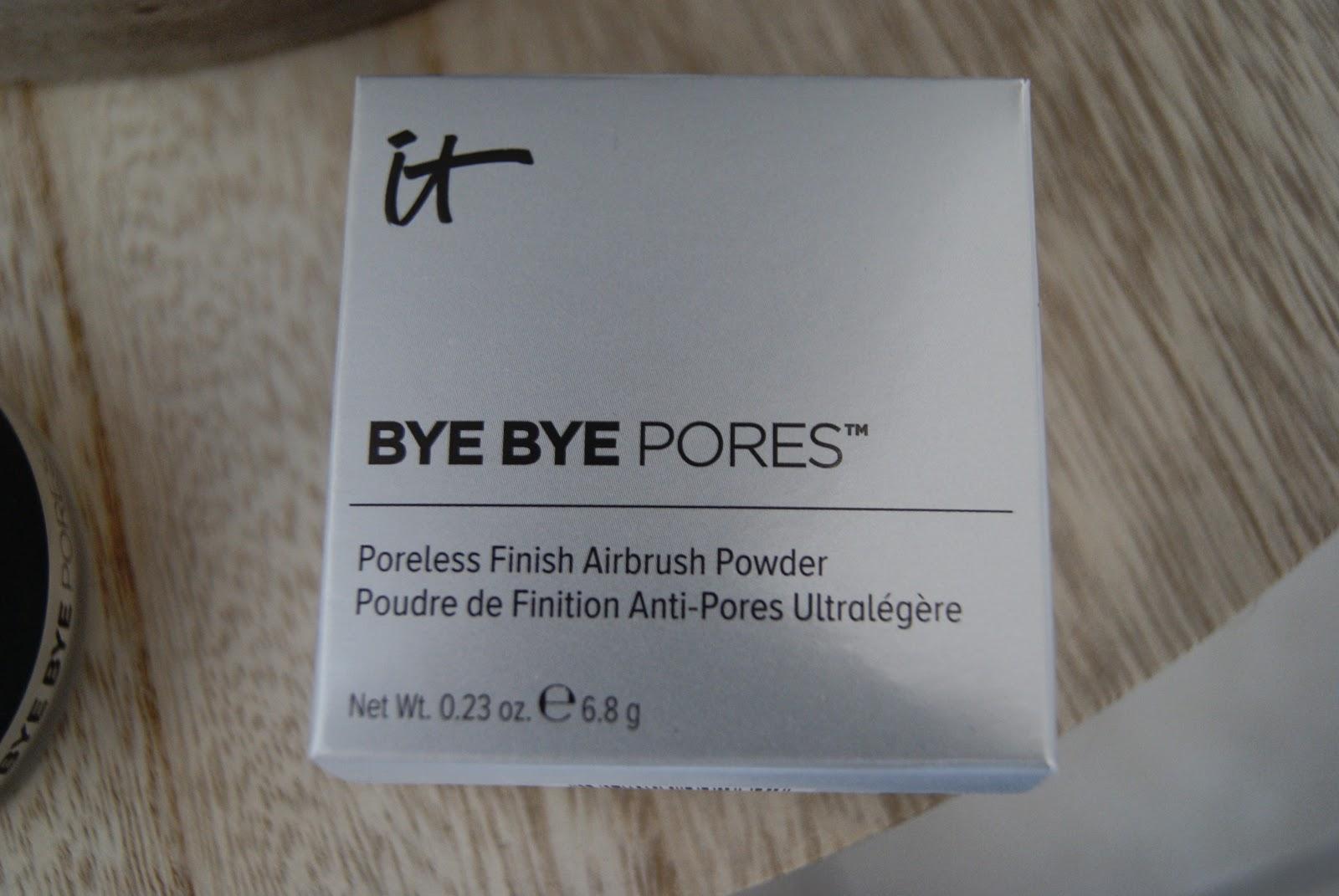 Poudre Bye Bye Pores It Cosmetics