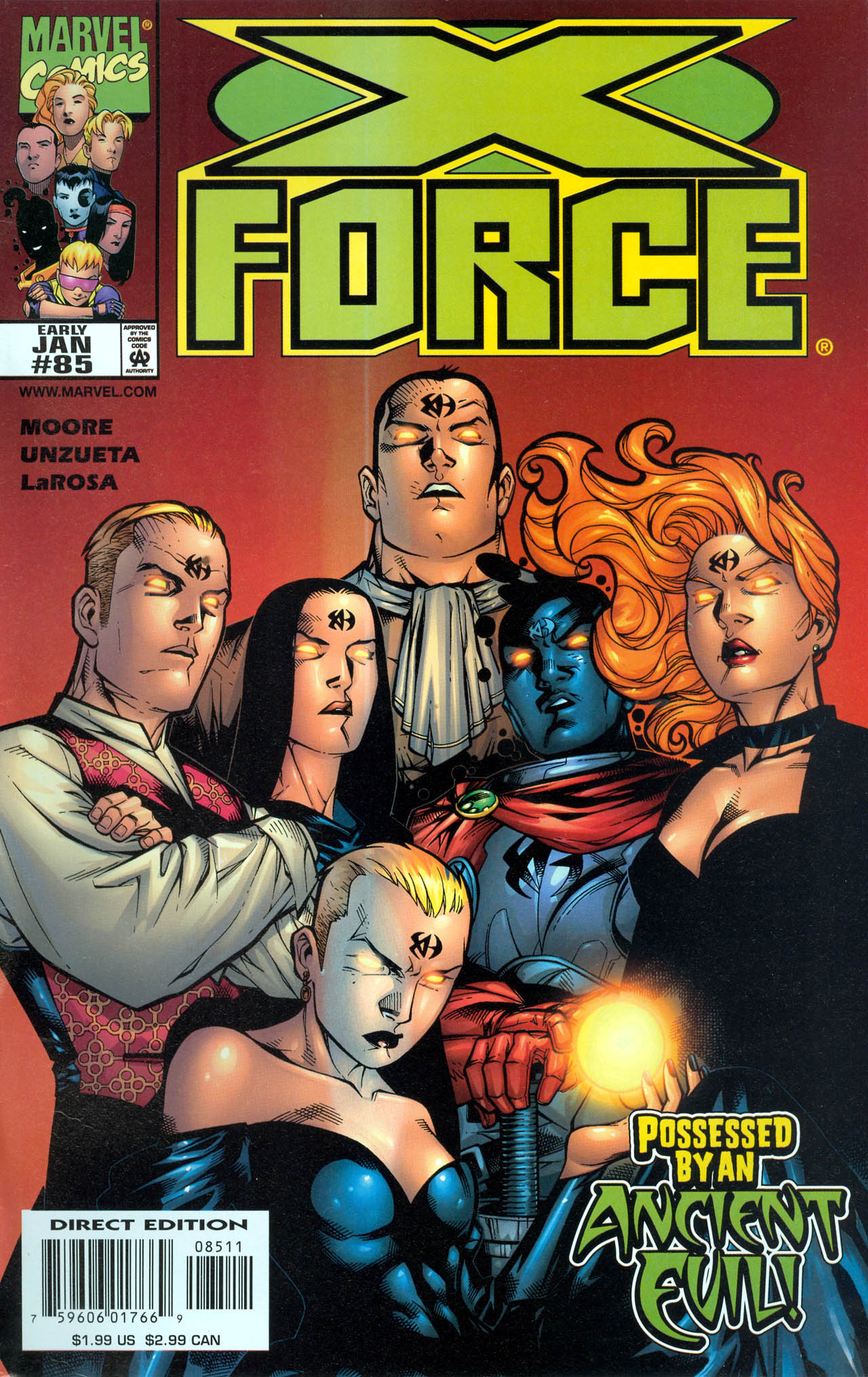 Read online X-Force (1991) comic -  Issue #85 - 1