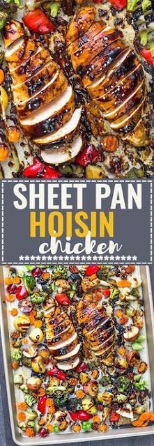 Sheet Pan Hoisin Chicken