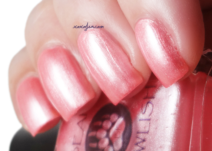 xoxoJen's swatch of Bear Pawlish May Flowers