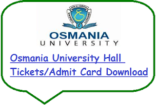 OU Hall Tickets 2019