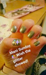 Glitter Nail Colour