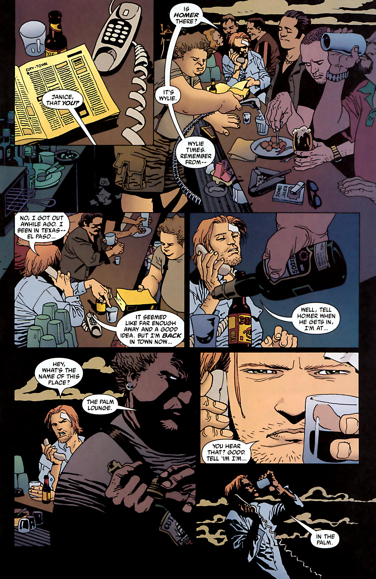 Read online 100 Bullets comic -  Issue #52 - 18