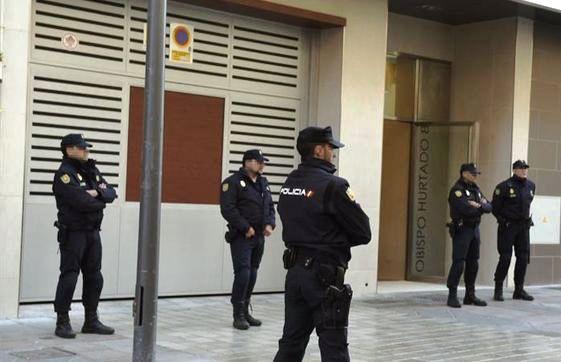 <STRONG>LA POLICIA REGISTRA LA SEU DE PODEM</STRONG>