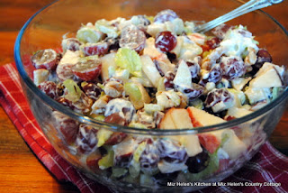 Instant Pot Waldorf Chicken Salad at Miz Helen's Country Cottage