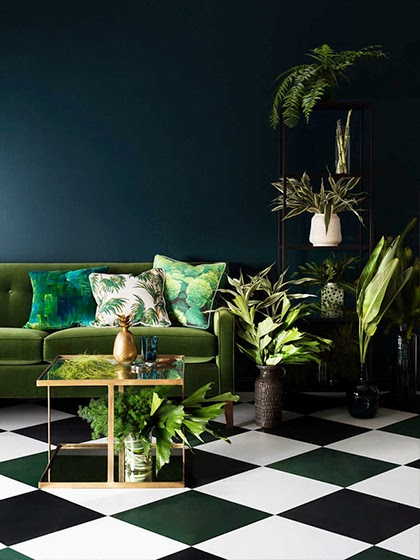 Trending interior 2015 - Botanical