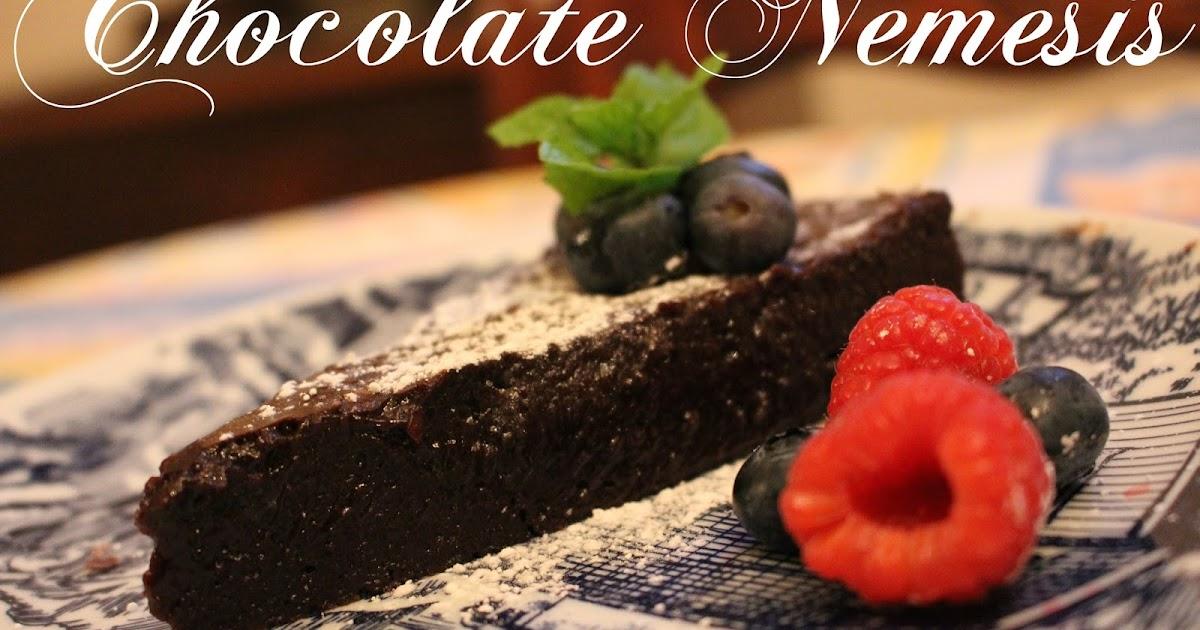 Gluten Free Chocolate Nemesis Cake