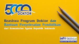 Program 5000 Doktor Dalam Negeri