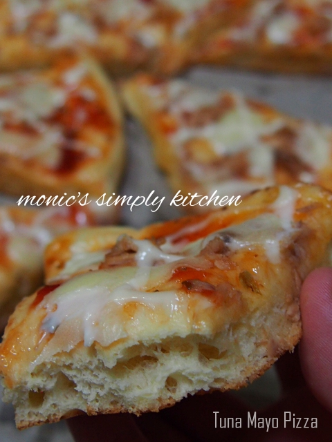 tuna mayo pizza empuk