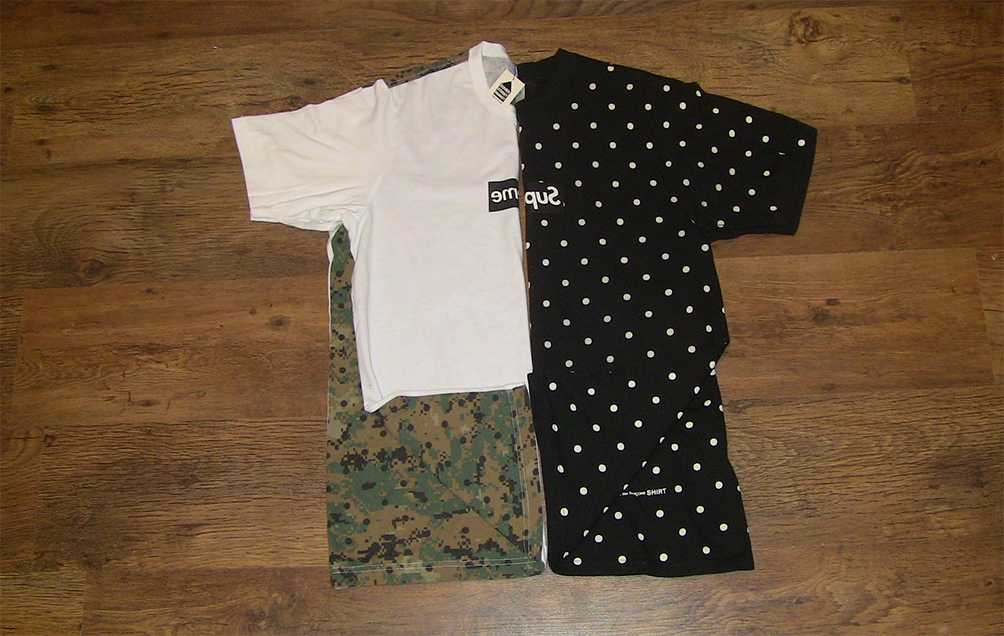 67be20bfd79a the ramblings of jon m a: supreme x comme des garcons 2013 t-shirt ...