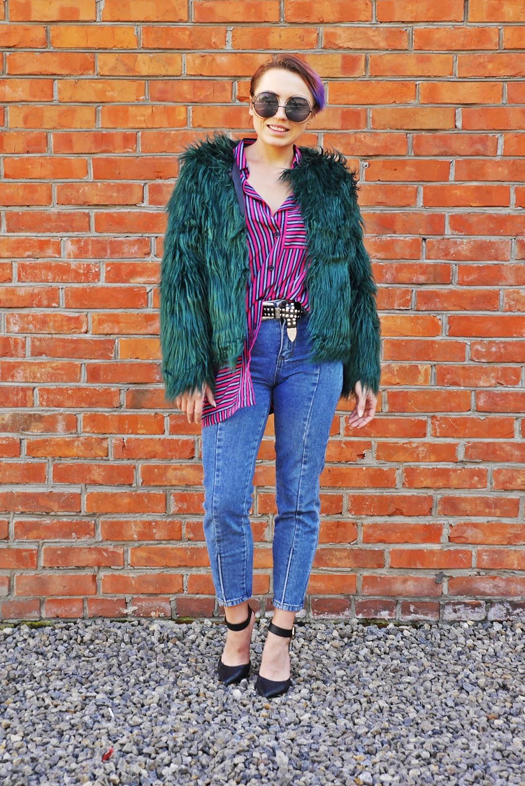 3a_green_fur_stripes_shirt_karyn_blog_modowy_031017