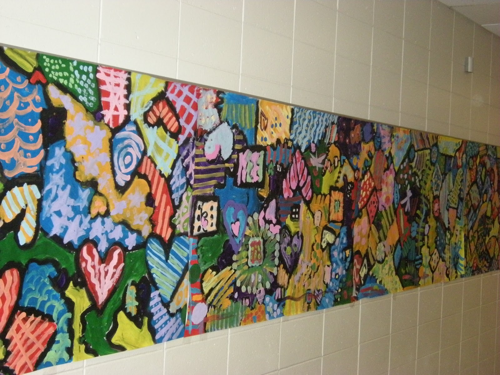 Collaborative Classroom Art Project ~ What s happening in the art room end of year