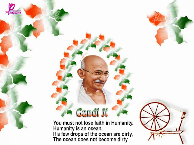 photos on Gandhi Jayanti  2016