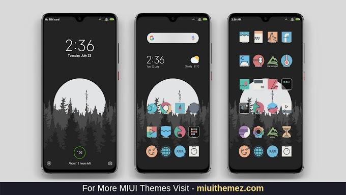 MDark Night MIUI Theme Download | Xiaomi Mi Themes
