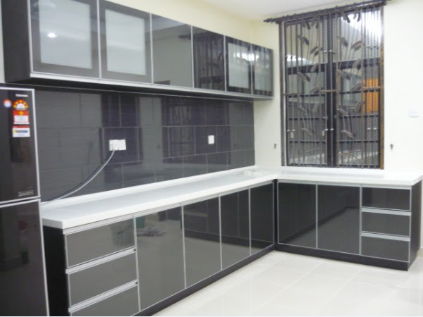 Harga Kabinet Dapur Acrylic Desainrumahid
