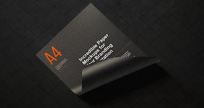 موك اب ورق رسمي Paper Branding Mockup - موقع بلال آرت