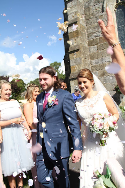 Roses Peonies For Foos Marc Emma S Wedding At St Helens Church Eaves Hall