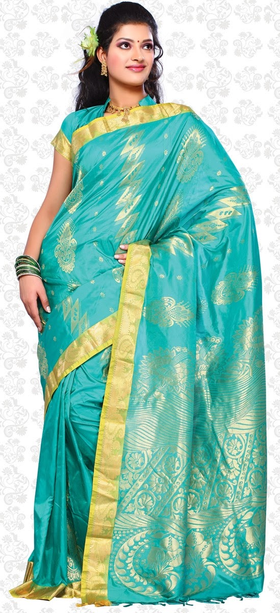 MALAR WORLD: Chennai Silks saree collections