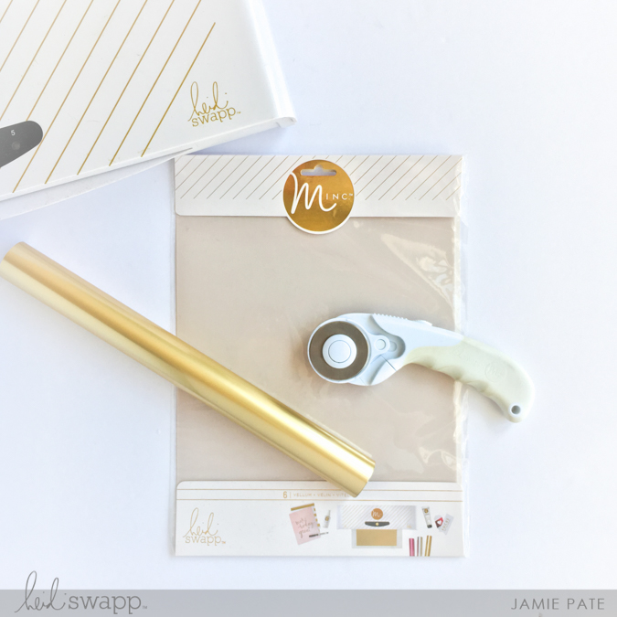 Seriously Blessed Minc It Monday ~ Jamie Pate for Heidi Swapp  |  @jamiepate for @heidiswapp