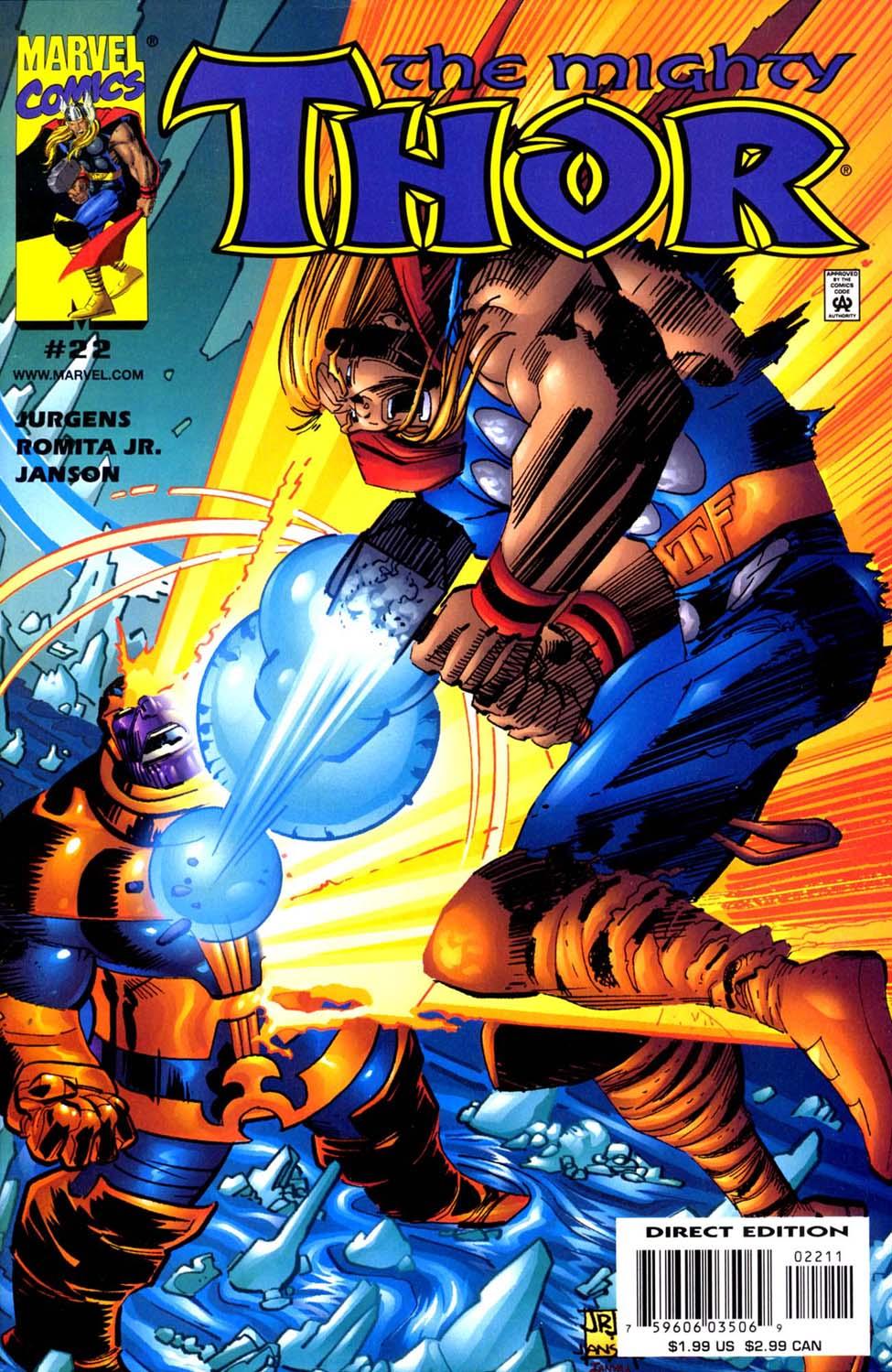 Thor (1998) Issue #22 #23 - English 1